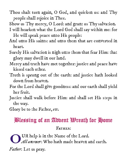 Advent Prayers and Devotions