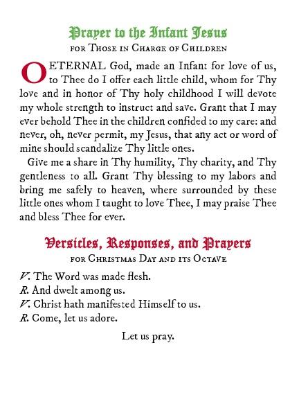 Christmas Prayers and Devotions