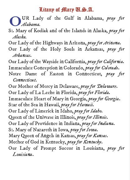 Prayers for the United States