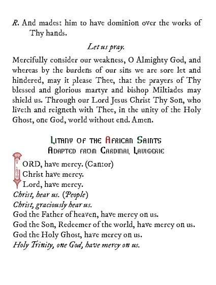 Saints of Ancient Africa Book of Prayers