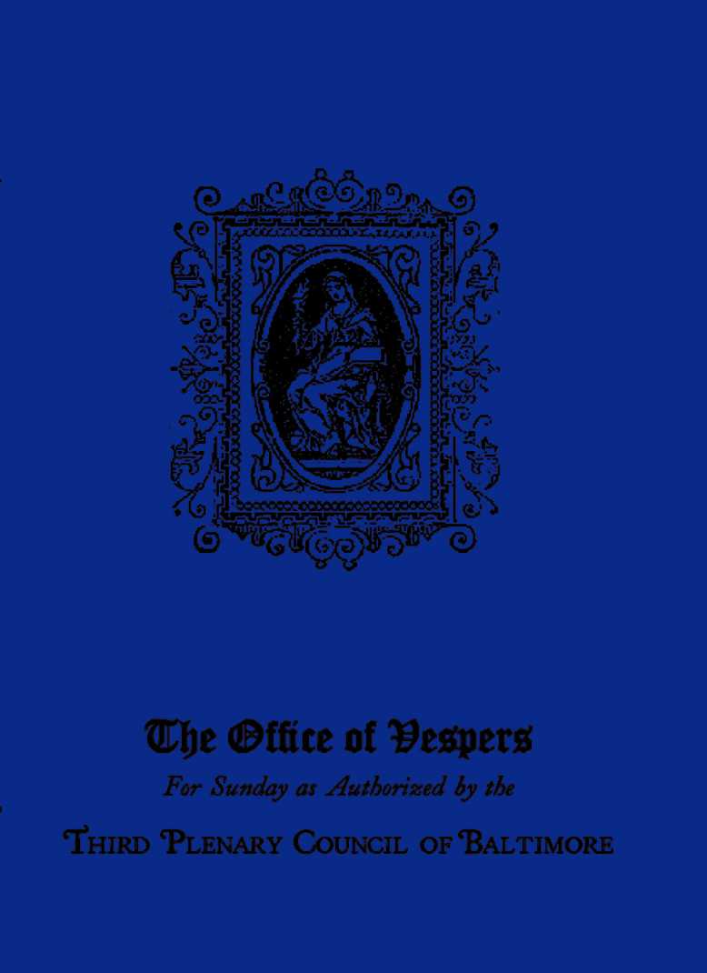 The Office of Vespers