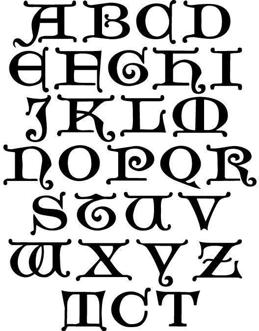 Lasance Initials Font